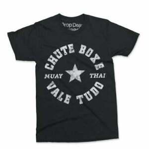 Chute Box UFC MMA Training Gym Fighter Top T-Shirt Black Unisex Vintage TK1009