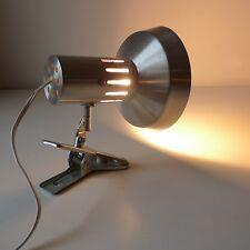 lampe applique métal alu vintage années 60 70 design 1970 lamp
