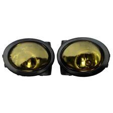 2x Faros Antiniebla en Amarillo Bombillas Izquierda + Derecho para BMW E39 E46
