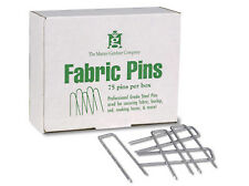 75 Pack, Contractor Grade, Steel Landscape Fabric Pin,For Securing Landscape