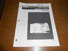 Vintage 1996 Onan Generator Set Operators Manual Bgd Nhd 965-0135