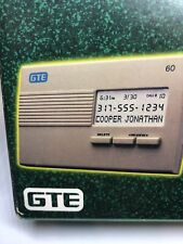 CIDCO Caller ID Name / 60 Number / Date / Time / Compact Size /  #SA-60A-20