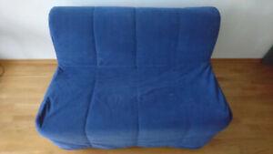Couch Sofa Schlafcouch Gästebett Ikea Lycksele
