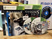 2 Games Of Assassin's Creed - Revelations Complete & III (disc) XBOX 360 Games
