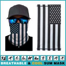 Summer Face Mask Scarf  Neck Gaiter Biker Tube Bandana Beanie Cover Cap Headwrap