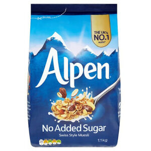 Alpen - Muesli No added Sugar - 1.1kg