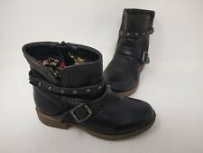 NEW! Skechers Youth Girls Mad Dash Pretty N Perfed Boots Blk #87849L 201P cc