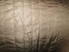 Fabric Quilted Satin Brown +2.1oz Polyester Running Meters 55 1/8-57 1/8in Wide