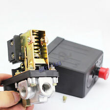 Solid 145-175 PSI Air Compressor Pump Pressure Switch Control Valve Max 240V 20A