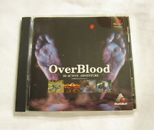 OverBlood (Playstation PS1 Import) Complete Vr Nice!