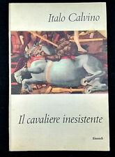 IL CAVALIERE INESISTENTE ++1°EDIZ++ (Italo Calvino) 1959 Einaudi Coralli