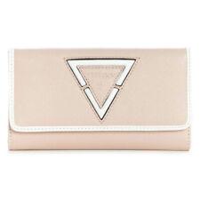 Guess Blush Logo Trifold Purse Wallet