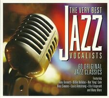 THE VERY BEST JAZZ VOCALISTS - 60 ORIGINAL CLASSICS - 3 CD BOX SET