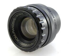 Komura 105mm F5.6 Komuranon-E Enlarger Lens for Medium format 6x9