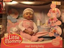 Fischer Price Little Mommy Real Loving Baby Doll NRFB