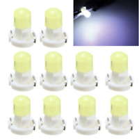 10X T3 Neo Wedge LED Instrument Cluster Dash Panel Climate Lights Bulbs White HS