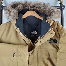 NWT NORTH FACE $330 Size 2XL Mens McMurdo III 550 Down Fill Khaki Parka Coat New