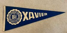 Vintage Xavier University Pennant