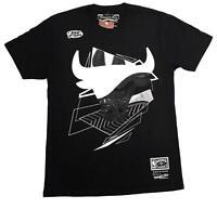 Mitchell & Ness Black NBA Chicago Bulls Crisp T-Shirt