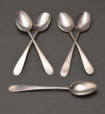 Five Coin Silver Spoons, Samuel Coleman Circa 1795 Lot 470