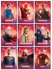 DC CW Crisis On Infinite Earths - CW Show - 9 Card Promo Set - Superman Flash