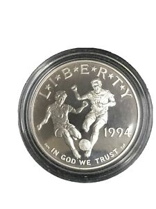 1994-S World Cup Silver Commemorative $1 ONLY COIN