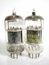 2 matched 1960s RCA 5814A tubes - Black Ridge Plates, 2 Mica, Top O Getter