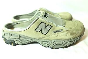 New Balance 801 Mules Slide Sandals Casual Shoes Leather Grey M801SGR Mens 9