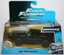 Modellini statici di auto , furgoni e camion neri marca Jada Toys serie Fast & Furious