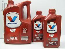 7L 7 Liter VALVOLINE MAX LIFE MAXLIFE Motoröl Öl SAE 10W-40 Oil [5L + 2L]