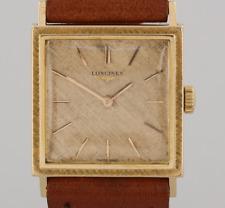 Vintage Longines Unisex Wristwatch 18ct Yellow Gold