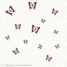 Butterflies Butterfly Removable Wall Art Vinyl Graphic Bedroom Sticker Decal
