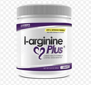 L-arginine Plus #1 L-arginine Supplement - Grape Flavor New In Box