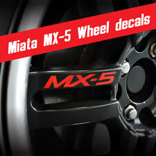 Miata Wheel graphics MX-5 Stickers fits: Mazda Miata MX-5 *Multiple colors
