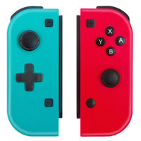 Nintendo Switch Joy-Con Controller Neon Red & Blue For Nintendo Switch Unbranded