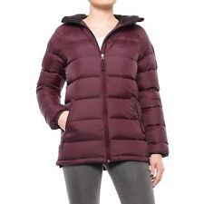 Peak Performance Women's Ilma Down Jacket Coat 500 Fill  Mahogany  L NWT $370