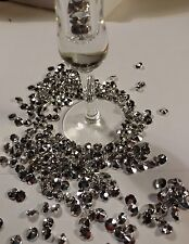 200 PCS  8mm Diamond Shape Vase Filler Silver. Add some bling