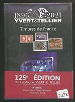 YVERT&TELLIER 2021 STAMPS  CATALOG FRANCE TOME 1 ANNIVERSARY VINTAGE 125 YEARS