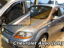 CHEVROLET AVEO Saloon 4-doors 2004-2006 2-pc wind deflectors HEKO Tinted