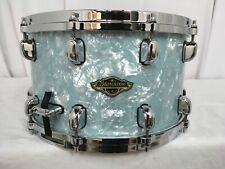 "Tama Starclassic Walnut/Birch 14"" Dia.X 8"" Deep Snare Drum/Ice Blue Pearl/New"