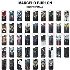 COVER CASE BUMPER RIGIDA SOFT CUSTODIA MARCELO BURLON MILAN NEW PER APPLE IPHONE