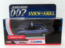 Corgi Appx 1/36 Scale Diecast TY06402 Renault Taxi A View To A Kill 007 Bond