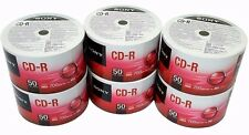 300 SONY Blank CD-R CDR 48X Logo Branded 700MB 80min Media Disc PRIORITY MAIL