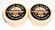 2  HAIR CHEMIST Hair Mask With Macadamia Oil For DAMAGED HAIR 2 oz/57g each