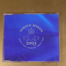 SIMPLE MINDS - DON'T YOU (FORGET ABOUT ME) - 2003 - OTTIMO CD [AN-131]