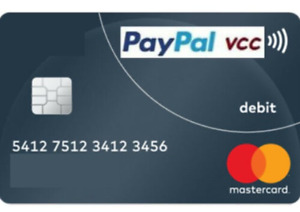 VCC Virtual Credit Card for US PayPal Verification