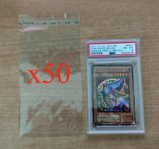 🍀Bustina x50 GRADED CARD SLEEVES per carte PSA e GRAAD Pokemon Yugioh Magic!🍀