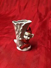 Vintage Elf Bud Vase Japan 1950's