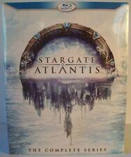 Stargate Atlantis: The Complete Series 20-Disc Blu-ray Box Set (2011 - MGM)