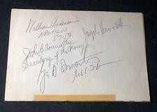 1961 FL Program SIGNED BY SEN GEORGE SMATHERS & TX JOHN CONNALLY & SUB NAUTILUS